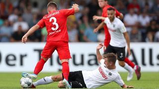 DFB Cup Men:  SC Verl vs. FC Augsburg