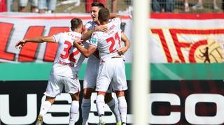 DFB Cup Men: Germania Halberstadt vs. Union Berlin