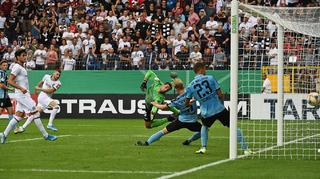 DFB Cup Men: Waldhof Mannheim vs. Eintracht Frankfurt
