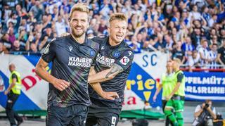 DFB Cup Men: Karlsruher SC vs. Hannover 96