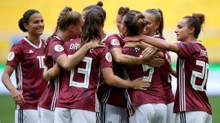 DFB-Frauen besiegen Ukraine 8:0