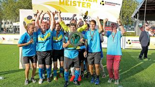Blindenfußball: Marburg entthront St. Pauli