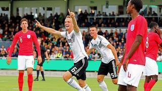 U 19 siegt gegen England 1:0