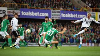 Germany pass a tough test in Northern Ireland