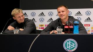 Highlights der PK mit Julian Brandt und Marc-André ter Stegen
