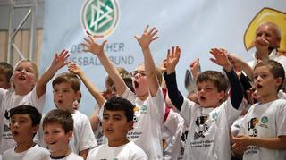 DFB macht Schule vor Ort in Haibach