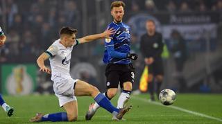 DFB Cup Men: Arminia Bielefeld vs Schalke 04