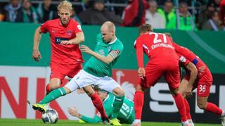 DFB Cup Men: SV Werder Bremen vs 1. FC Heidenheim