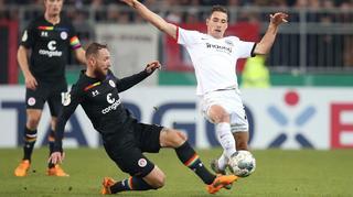 DFB Cup Men: FC St. Pauli vs Eintracht Frankfurt