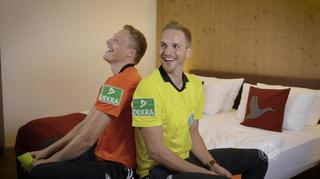 Kartenduell: Martin Petersen und Sören Storks