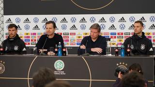 PK-Highlights mit Bierhoff, Goretzka und Neuer