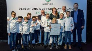 Verleihung der Fair Play-Medaille in Düsseldorf