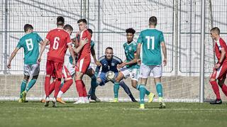 U 18 verliert gegen Serbien