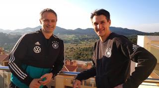 Prus und Wück zum Wintertrainingslager in Spanien