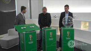 DFB-Pokal der Junioren: Die Halbfinalauslosung