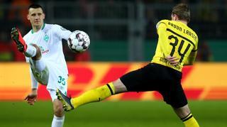 Pokalhistorie: Bremen gegen Dortmund