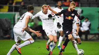 DFB Cup Men: Eintracht Frankfurt vs RB Leipzig