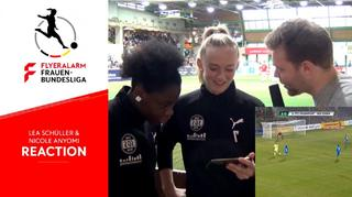 Performance Check mit Lea Schüller und Nicole Anyomi