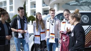 Fan-tastic Moment: Meet & Greet mit den DFB-Frauen