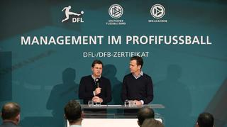 """DFL und DFB stellen Zertifikat """"Management im Profifußball"""" vor"""