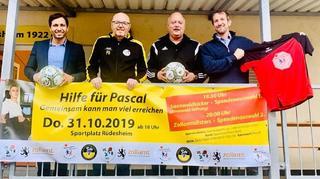 Gelebte Solidarität: Sepp-Herberger-Urkunde für VfL Rüdesheim