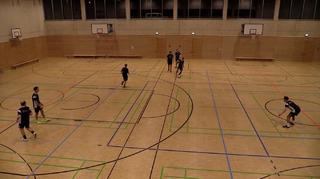 Futsal-Technik im Dreieck