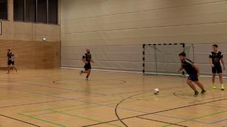 Futsal-Technik im Viereck