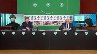 DFB-Pressekonferenz mit Jogi Löw, Oliver Bierhoff und DFB-Präsident Fritz Keller