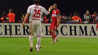 Hammertor & Cacau-Rot verderben VfB das Double   Stuttgart - 1. FC Nürnberg   DFB-Pokal Finale 2007