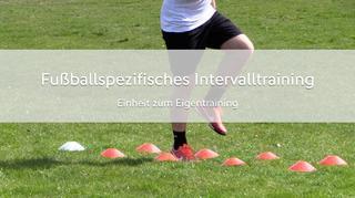 Fußballspezifisches Intervalltraining