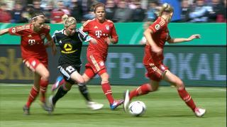1. FFC Frankfurt - FC Bayern München in voller Länge   DFB-Pokalfinale der Frauen 2012