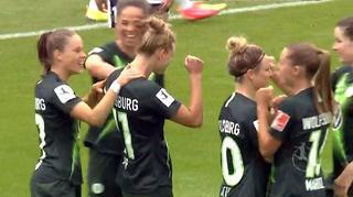 Highlights: VfL Wolfsburg vs. 1. FFC Frankfurt