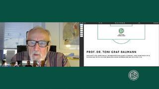 Die Digitale Sprechstunde des DFB über Schmerzmittel im Amateurfußball
