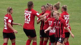 Highlights: 1. FFC Frankfurt vs. SC Freiburg