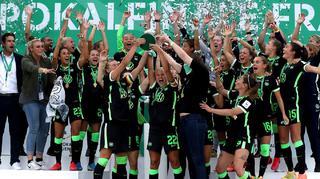 Wolfsburg feiert 6. Pokalsieg in Serie