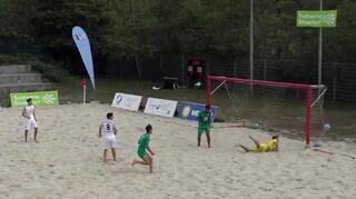 Deutsche Beachsoccer-Liga: 3. Spieltagsevent in Düsseldorf