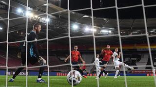 Das 1:0 gegen Spanien in Slow Motion