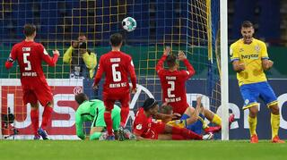 DFB Cup Men: Eintracht Braunschweig vs Hertha BSC