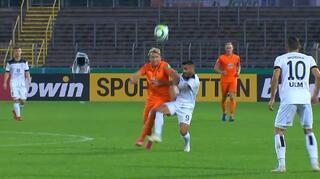DFB Cup Men: SSV Ulm 1846 Fußball vs Erzgebirge Aue