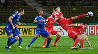DFB Cup Men: Karlsruher SC vs 1. FC Union Berlin