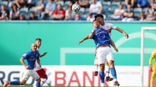 DFB Cup Men: Hansa Rostock vs VfB Stuttgart