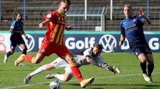 DFB Cup Men: SC Wiedenbrück vs SC Paderborn