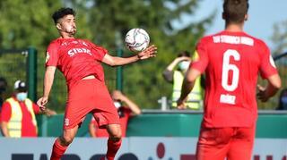 DFB Cup Men: TSV Steinbach Haiger vs SV Sandhausen