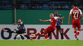 DFB Cup Men: Waldhof Mannheim vs SC Freiburg