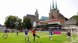 Blindenfußball-Bundesliga: Auftakt in Erfurt