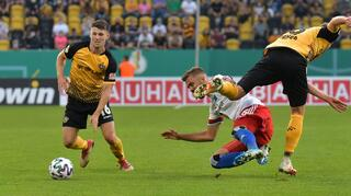 DFB Cup Men: Dynamo Dresden vs Hamburger SV