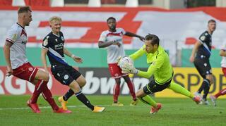 DFB Cup Men: Rot-Weiss Essen vs Arminia Bielefeld