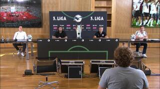 Pressekonferenz zum Saisonstart der 3. Liga mit Frings und Mintzel