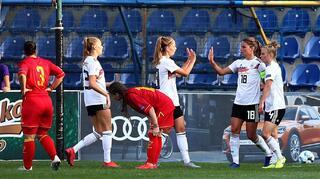 DFB-Frauen gewinnen in Montenegro 0:3