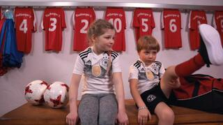 Kids erklären den Fußball, Teil 1